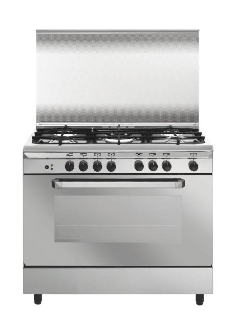 Eurogas Unica Range Freestanding Gas/Electric Stove (UN9612WI)